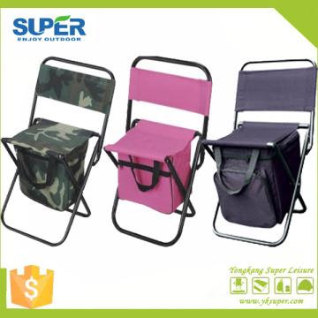 Silla de pesca para acampar con bolsa más fresca (SP-106)