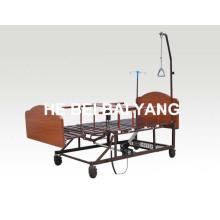 (A-185) Cama elétrica de enfermagem multifuncional para cuidados domiciliários