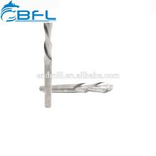 Ferramentas do carboneto de Endmill do CNC de BFL ferramentas de 2 WoodCutting do moinho de extremidade de compressão das flautas