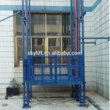 Electric Vertical chain guides hydraulic Cargo Lift