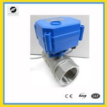 2 способ 5 В постоянного тока Ду20 из нержавеющей стали электрический двигатель привода клапана с утвержденными nsf61 для устройств международный отчет по испытаниям