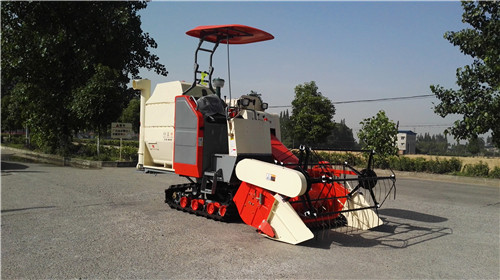 Grain Combine Harvest Machine
