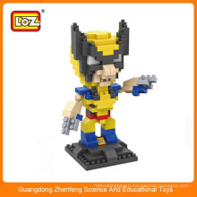 LOZ 9459 wolverines plastic action figure building block educational toy