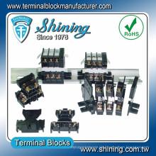TD-025 AWG 10 Doppelter Deck 600V 25 Amp PCB Schraubklemmenblock