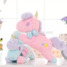 Новый дизайн на заказ смешные плюшевые единорог игрушки коробка ткани чехол хорошего качества домашнее украшение игрушки