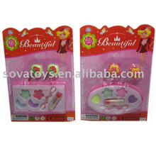 Powder foundation lipstick hairpin toy for girl