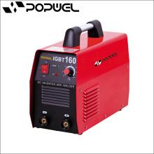 Máquinas de solda de alumínio Advanced Invert Tecnologia de Controle DC Inverter ARC Welding Machine IGBT 160