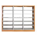Export southeast Asia high quality double side library bookself