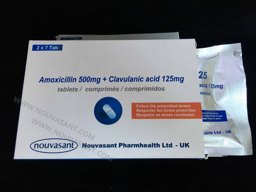 Amoxicillin clavulanate tablets 500mg_125mg