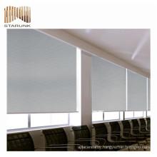 fireproof venetian office curtains roller blind fabric