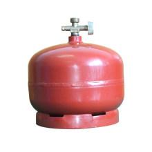 Cilindro de gás GLP e tanque de aço (AS-LPG-2KGC)