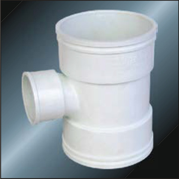 BS5255 / 4514 Drainage Upvc Reducing Tee Gris