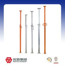 Postes ajustables de poste de acero / construcción para el fabricante de andamios