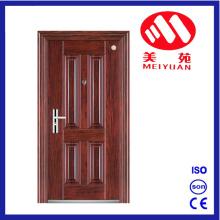 Puerta de entrada de acero popular popular del diseño para el exterior