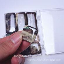 epoxy fridge magnet sets with plastic case
