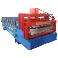 Tile Double Moulding Glazed Roof and Wall Panel Forming Machine