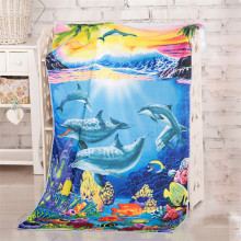 Light Blue Sea Animal themed Starfish Beach Towels