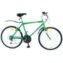 """Bicicleta de montaña con marco de acero de 24 """"(MG2401)"""