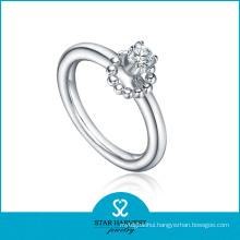 Fashion Mini Silver Ring Jewellery in Stock (R-0433)
