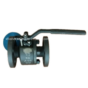 150lb forgé la vanne à bille d'extrémité de connexion de bride de l'acier au carbone A105