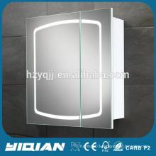 Modern Wall Mounted MDF Board Vanity LED Light Bathroom Mirror Vanity