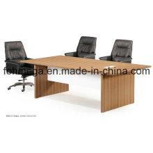 Table de réunion sectionnelle de nouvelle conception Melamine Finish Office (FOH-CT-F2412)