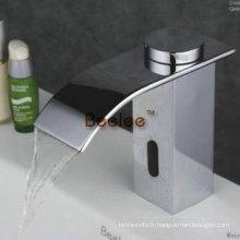 Robinet automatique mains libres de la seule cascade froide, robinet de capteur (Qh0128)