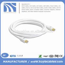 Câble mâle Mini DP mâle à mini-mâle 6 pieds / 1.8 m pour pommeau