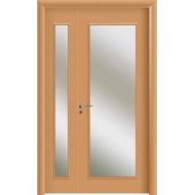 WPC Interior Doors with Glass and Double Door
