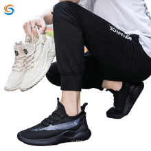Factory wholesale men walking style shoes Breathable lace up Sneakers casual shoes