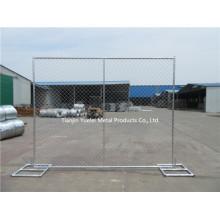 Стяжка для сварных соединений с металлической сеткой в Австралии Стандартная временная заборная панель, металлические ограждения
