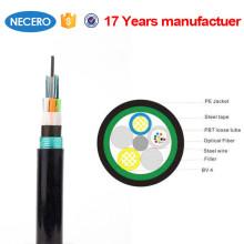 G652D тип волокна 1-96 жилы наружной пыли волоконно-оптические кабели