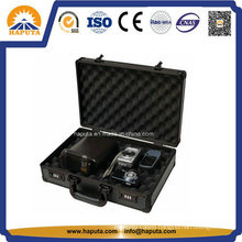 Cheap Aluminum Digital Camera Case with Knapsack Belt