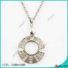 Цинк металлический сплав круглый ожерелье (Пн)
