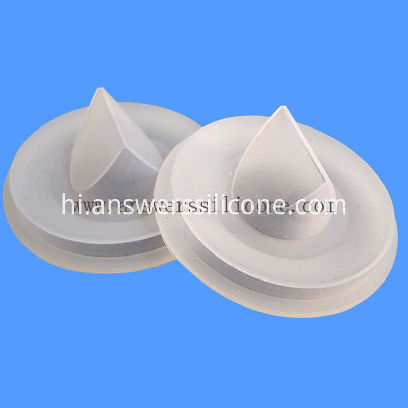 Floor Drian Check Valve white