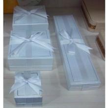 El papel envolvió las cajas de exhibición plásticas de la joyería al por mayor (BX-P-PX Serie)