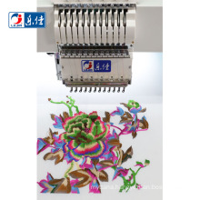 high speed 12 needle tajima  computerized sewing machines flat embroidery machine