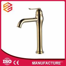 robinet de salle de bain plaqué or style antique robinet de lavabo