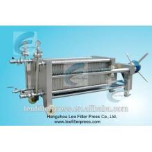 Leo Filter SS Platten- und Rahmenmembranfiltrationsfilterpresse