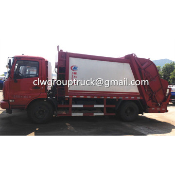 Dongfeng Tianjin 12CBM Compression camion à ordures