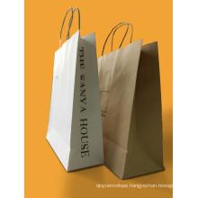 Best Quality Professional Custom Kraft Paper Shopping Bag Printing