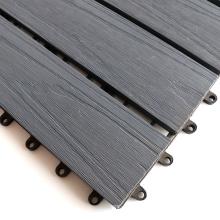 Factory Garden Decoration Co-Extrusion DIY Decking Tiles WPC Interlocking Flooring Tiles
