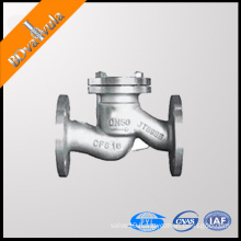 H41/44 Flanged connection Stainless steel material PN16 and Acid medium check valve