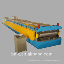 Высокоскоростная двухслойная настенная / крыша панельная формовочная машина, двойная прокатная машина для настенной панели