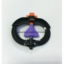 Overhead Rotor Micro Sprinkler with Orange Nozzle