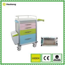 Equipo médico para la entrega de medicamentos de hospital Trolley (HK804)