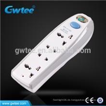 Hergestellt in China 4-Wege-Steckdose intelligente Sicherheit elektrische Schalter und Steckdose