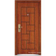 Steel Wooden Armored Door (YF-G9008)