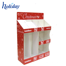 China Customized Christmas Promotional Christmas Gift Pallet Display Stands