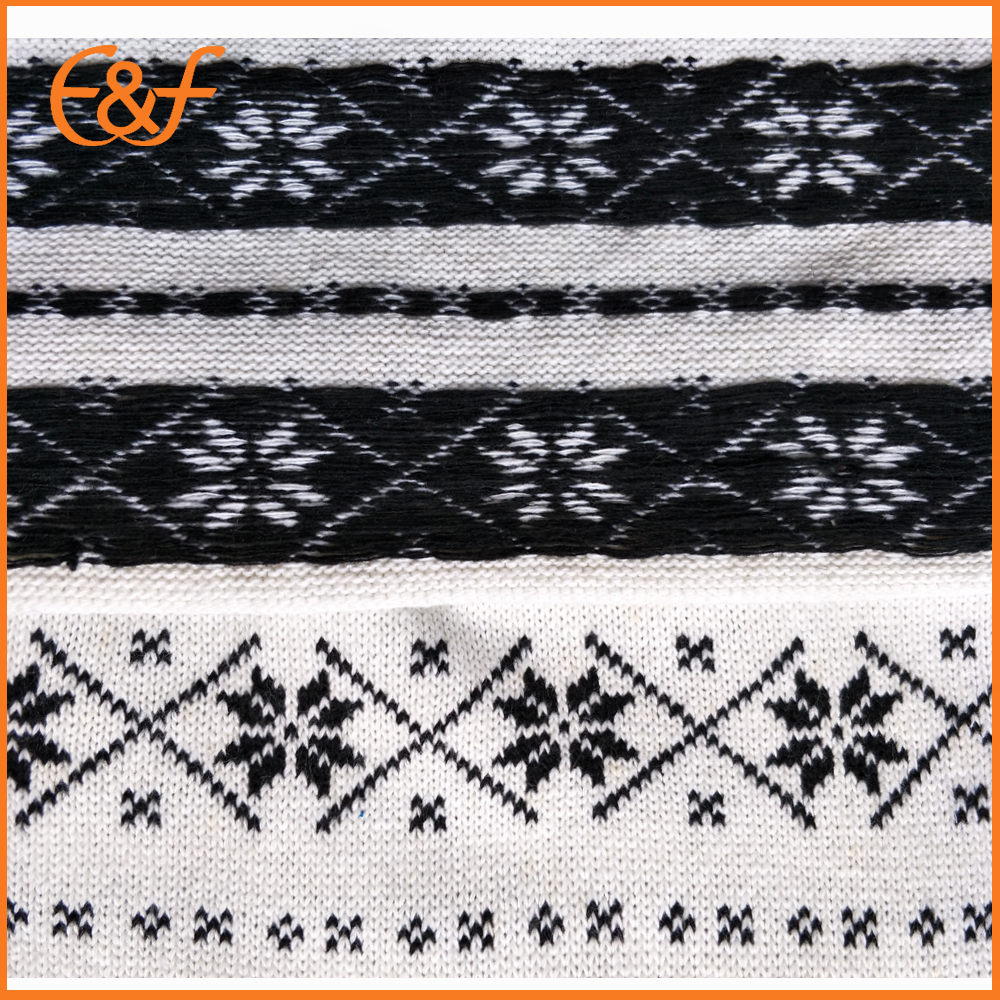 Snow pattern sweater